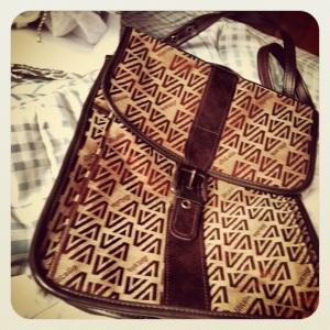 AlItalia Stewardess Bag