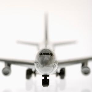 Model jet plane.