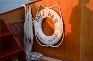 Sailing aboard the beautiful Selina II.