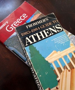 We'd all probably jump at the chance to visit Greece and pay the prices in this 1983 Frommer's guide, but would that be an economic advantage?