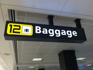 Baggage Claim, Dulles Airport