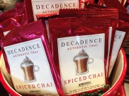 Enjoy a spiced chai after you hang your stocking by the chimney with care.