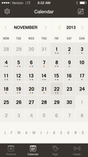 Momento Calendar