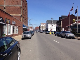 Entering the Strip District