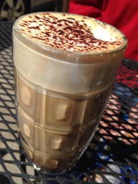 Lovely mocha latte