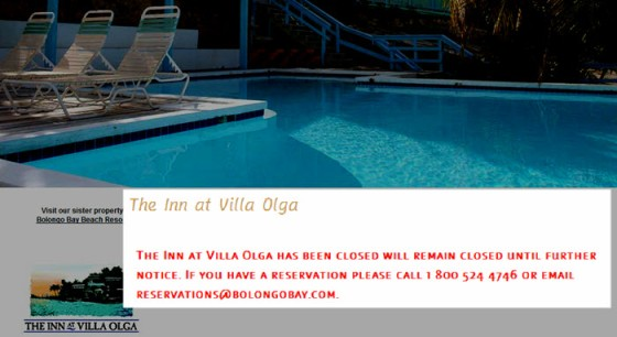 Villa Olga Announcement