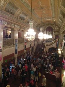 The foyer of the Benedum.
