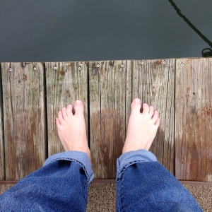Zeke's feet
