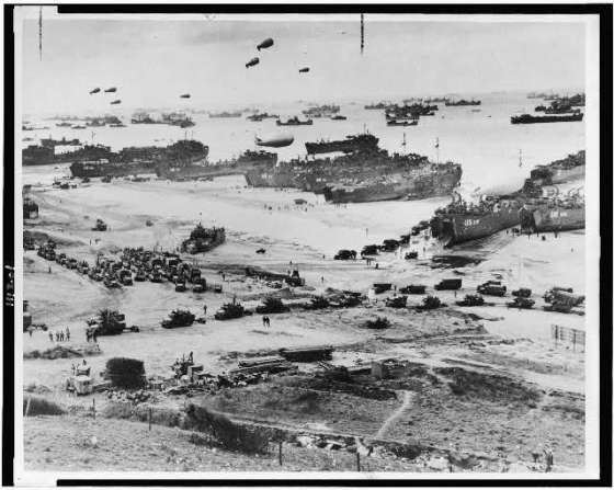 D-Day, courtesy: Library of Congress