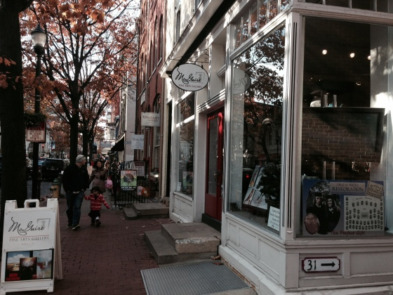 The Downtown of Frederick is flooded with people each weekend during the holidays.