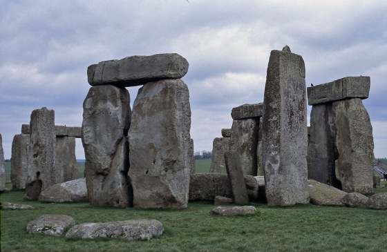 The world's most famous stacked stones.