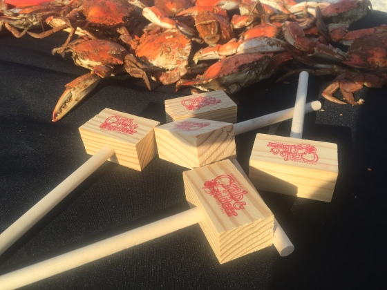 "Steamed Crabs and Mallets to ""get crackin' with"""
