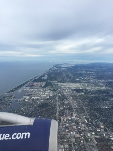 JetBlue over Fort Lauderdale