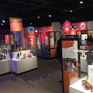 The exhibit floor