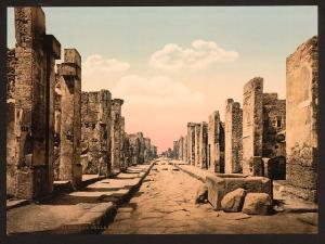 Fortuna Street, Pompeii