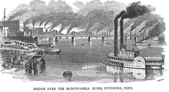 Monongahela River, 1857