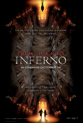 Inferno starring Tom Hanks