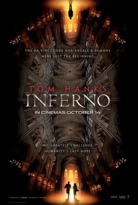 Inferno starring Tom Hanks