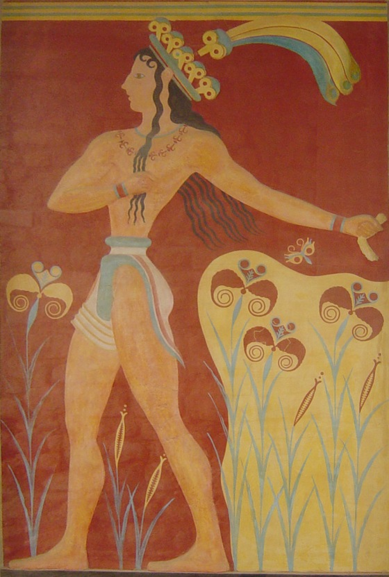 Prince of Lillies Fresco
