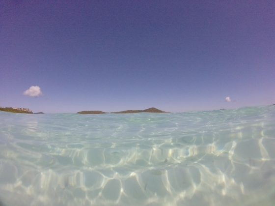 The Clear Water of Lindquist Beach